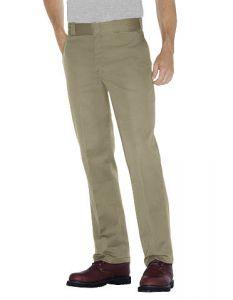 Dickies Mens Original 874 Work Pants - Khaki - Big & Tall