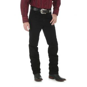 WRANGLER® Cowboy Cut® Silver Edition Slim Fit Jean - Black