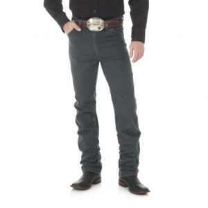 WRANGLER® Cowboy Cut® Slim Fit Jean - Charcoal Gray