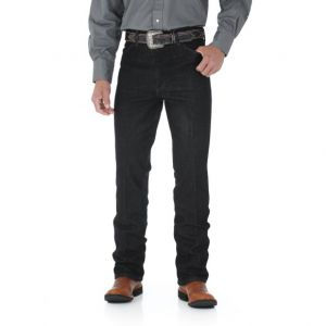 WRANGLER® Cowboy Cut® Stretch Slim Fit Jean - Black