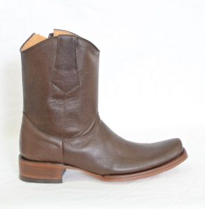 Mens Brown Versace Toe Cowboy Boots