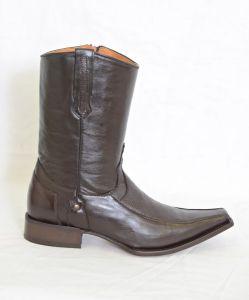 Trotamundo Mens Brown Versace Toe Cowboy Boots