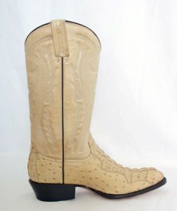 Mens Oryx Round Toe Cowboy Boots