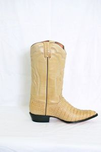 Mens Oryx Narrow Round Toe Cowboy Boots
