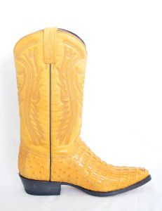 Mens Buttercup Narrow Round Toe Cowboy Boots