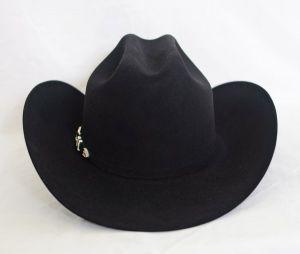 Larry Mahan's 10X Tucson Black Cowboy Hat