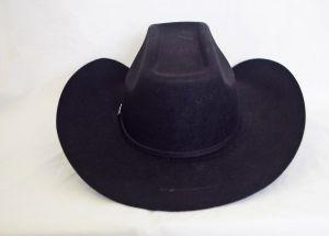 Dustin 100X Black Cowboy Hat
