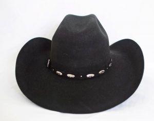 Rodeo 1000X Black Cowboy Hat