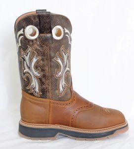 El  Dorado Mens Honey Square Toe Work Boots