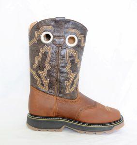 El  Dorado Mens Shedron Square Toe Work Boots