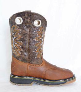 El  Dorado Mens Shedron Steel Square Toe Work Boots