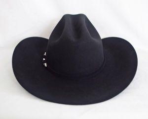 Resistol 4X Midnight Black Cowboy Hat
