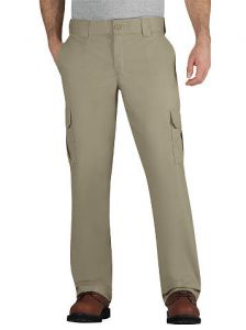 Dickies Mens Stretch Twill Cargo Pants - Desert Sand - Big & Tall